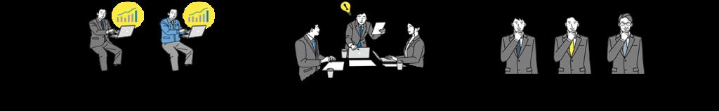 中小企業診断士の専属コンサルタントが多数在籍中 11名。